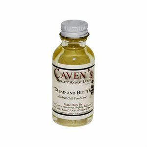"""Caven's Lures - """"Bread & Butter"""" Muskrat Food/Call Lure (1 oz.)"""