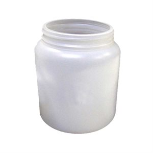 1 L/32 oz. Single Wall Plastic Jar