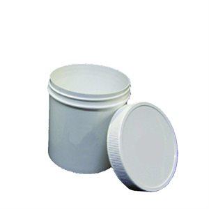 500 ml/16 oz. Single Wall Plastic Jar W/ Lid