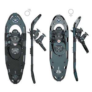 """Snowshoes - Snow Trail Alum. (10"""" x 36"""")"""