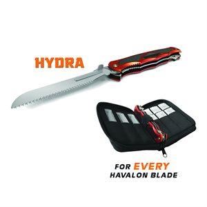 Hydra Dual Blade Folding Knife(Brick Red)