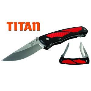 Havalon Titan Dual Blade Folding Knife (Uses 60A Blades)
