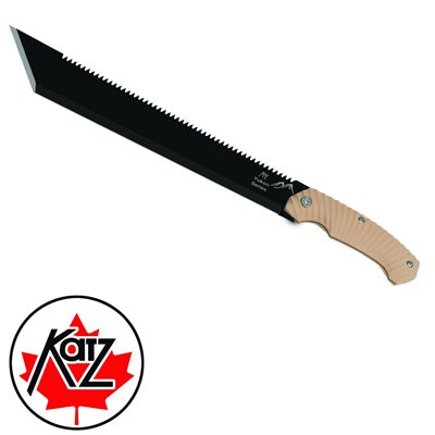 "Machete - 22"" Tan Handle (with Sheath)"