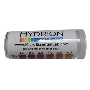 Tanning - pH Paper Strips (Range: 1 - 12 pH)