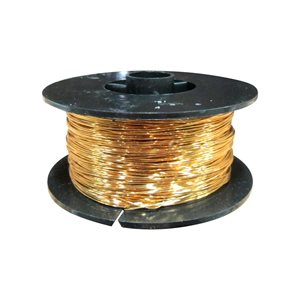 Brass Snare Wire (21 Gauge) - 500 Ft.