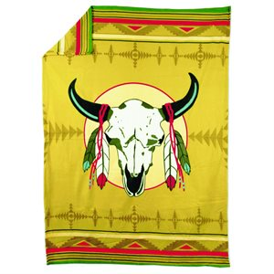 Blanket - Buffalo Skull