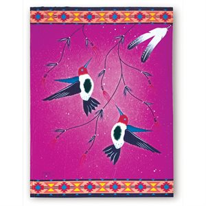 Blanket - Hummingbird