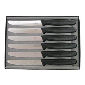 6 Piece Round Tip Steak Knife Set