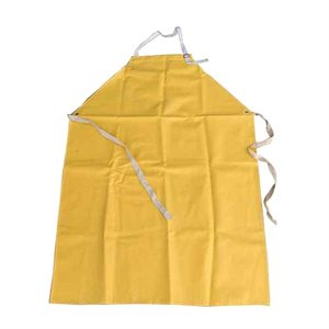 Chemical Resistant Neoprene Apron - Yellow