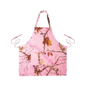Pink Realtree Camo Apron with Two Pockets