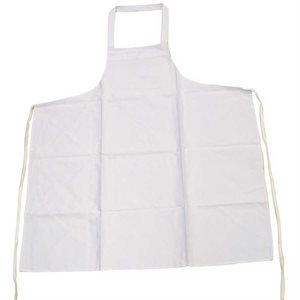 White Apron (65/35 Poly-Cotton Blend)