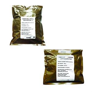 Dehydrated Green Bell Pepper - 500 g