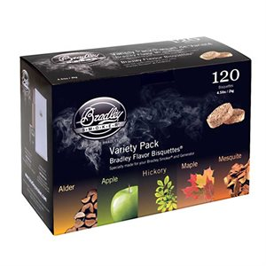 Bradley Smoker Bisquettes - Variety Pack (5 Flavors)