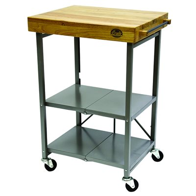 Bradley Foldable Kitchen Cart