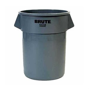 Brute 20 Gallon Plastic Container (Grey)
