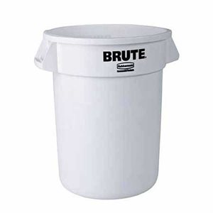 Brute 20 Gallon Plastic Container (White)