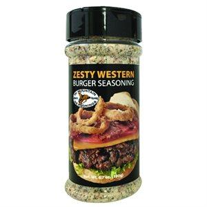 Burger Seasoning Zesty Western 8 oz Shaker