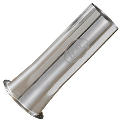 "Stainless Steel Grinder Tube (#32), 2"" Wide"
