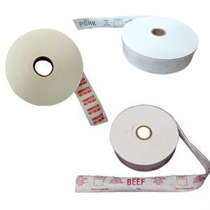 Gum Tape - White, Printed Rolls