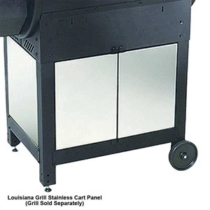 Louisiana Grills Stainless Steel Cart Panels For CS-570 Smoker