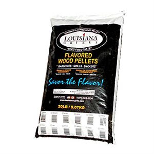 Louisiana Grills BBQ Pellets - Competition Blend = 50% Maple/25% Hickory/25% Cherry