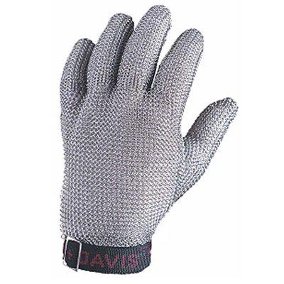 5-Finger Stainless Steel Mesh Glove (Small)