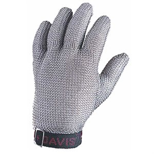 5-Finger Stainless Steel Mesh Glove