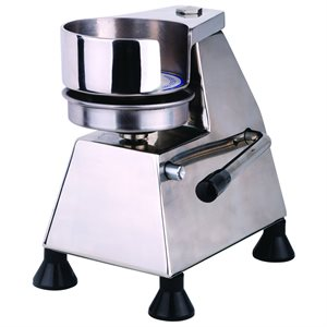 "Stainless Steel Hamburger Patty Press (5"" Diameter)"
