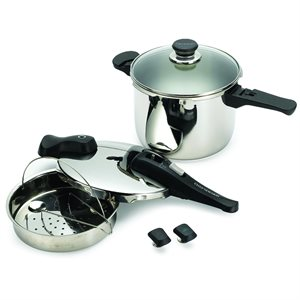 Chef's Design Dual Function Pressure Cookers