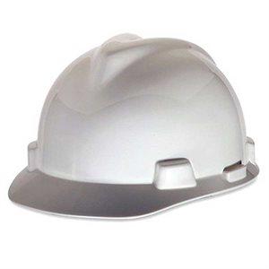 Adjustable White Safety Hard Hat