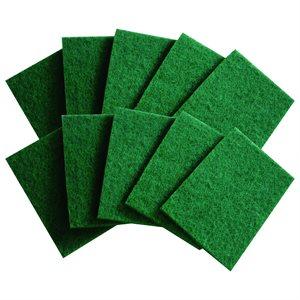"Green Nylon Scouring Pad (6"" X 9"")"