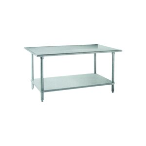"Stainless Steel Work Table (30"" X 60"")"