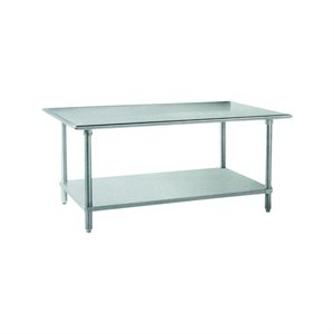 "Stainless Steel Work Table (30"" X 72"")"