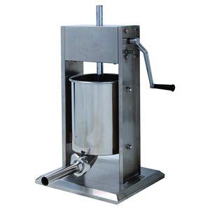 Vertical Stainless Steel Sausage Stuffer - Model: SV-10