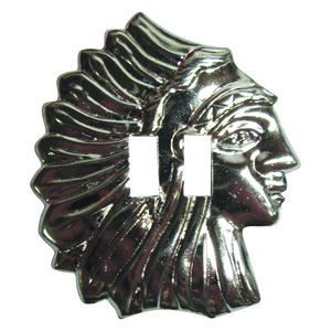 "Conchos - Silver Chief Head (1.5"")"