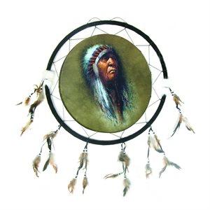 "24"" Dream Catcher - Indian Chief"