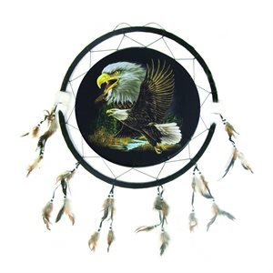"24"" Dream Catcher - 2 Eagles"