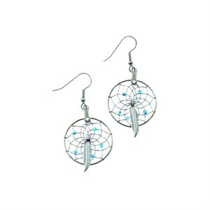 "1"" Dream Catcher Earrings"