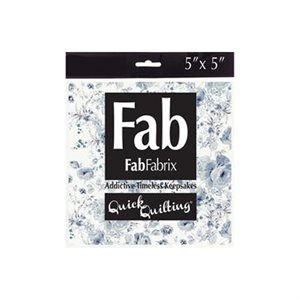 """Shabbylicious Pack - 5"""" Squares - Blue"""