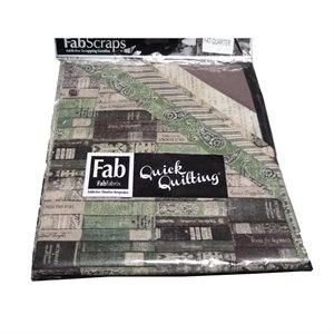 Gentleman's Club Pack - Fat Quarter - Green