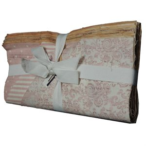 """Shabby Chic Pack - 10"""" Squares - Pink"""
