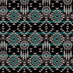 Native Dreamcatchers - Red/Balck