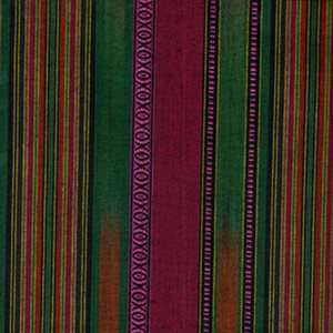 Shirting Fabric - Pink and Green Tones
