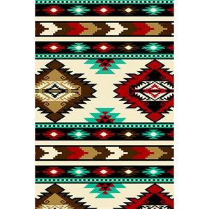 Winterfleece - Southwest Stripe - Red