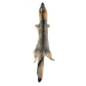 #1 Grey Fox Fur
