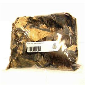 Muskrat Fur Pieces