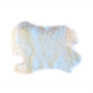 #3 Rabbit Fur -  White (Low Quality)