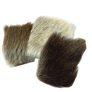 """Natural Arctic Caribou Hair (2"""" x 3"""")"""