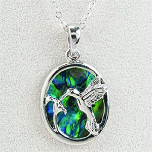 Necklace - Hummingbird