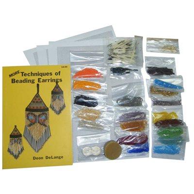 More Techniques of Beaded Earrings Kit